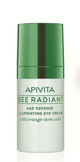 APIVITA Bee Radiant крем в/гл.д/бл./защ.от прежд.стар.к.со ствол.клет.апельс.15мл